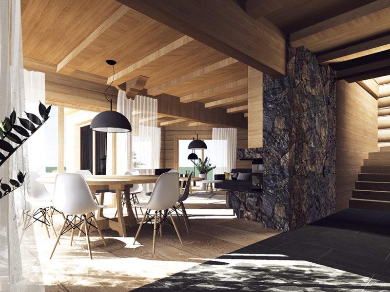 wnętrza góralskie architekt wnętrz projektant Dagmara Soból